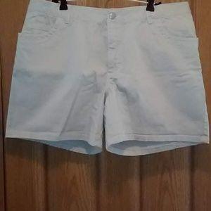 Cherokee Stretch 5-Pocket Shorts Size 16 EUC!